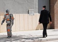 A robot may not injure a human <i>(Image: Vincent Fournier/Gallery Stock)</i>