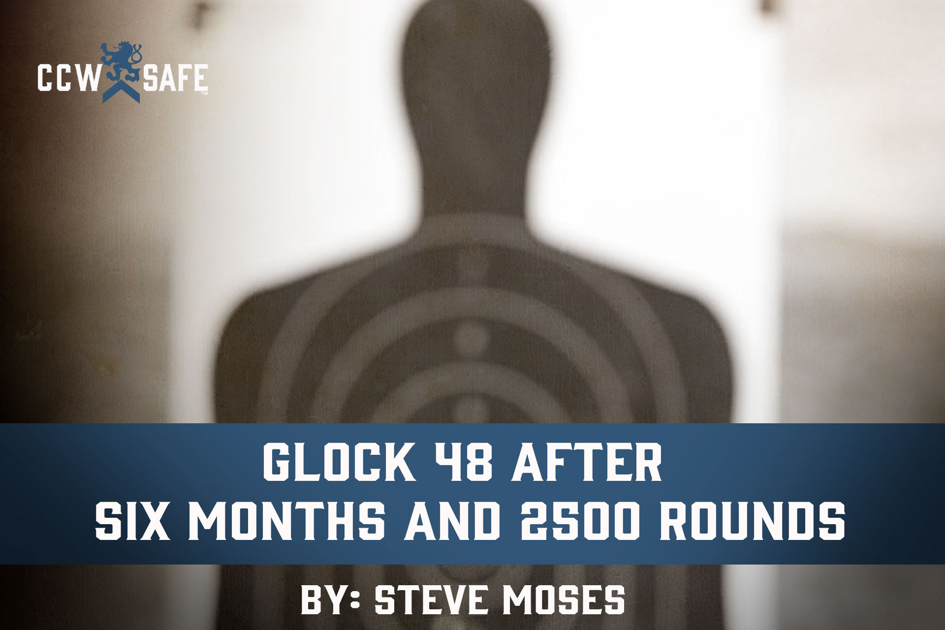 CCW-SAFE -> GLOCK 48 AFTER SIX MONTHS AND 2500 ROUNDS