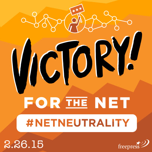 From our friends at Free Press: Victory for the Net!
