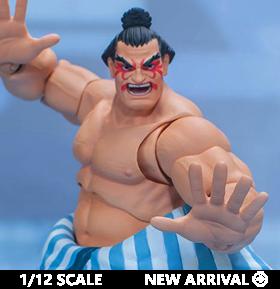 Street Fighter V E. Honda 1/12 Scale Figure