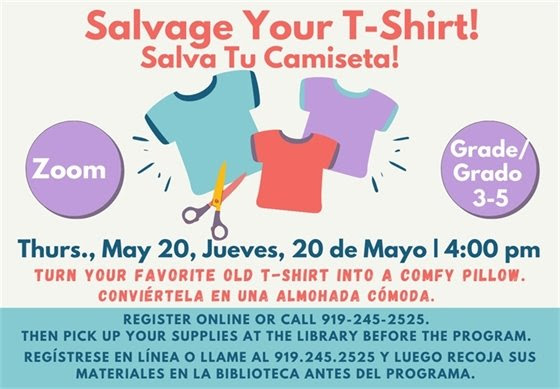 Salvage Your T-shirt
