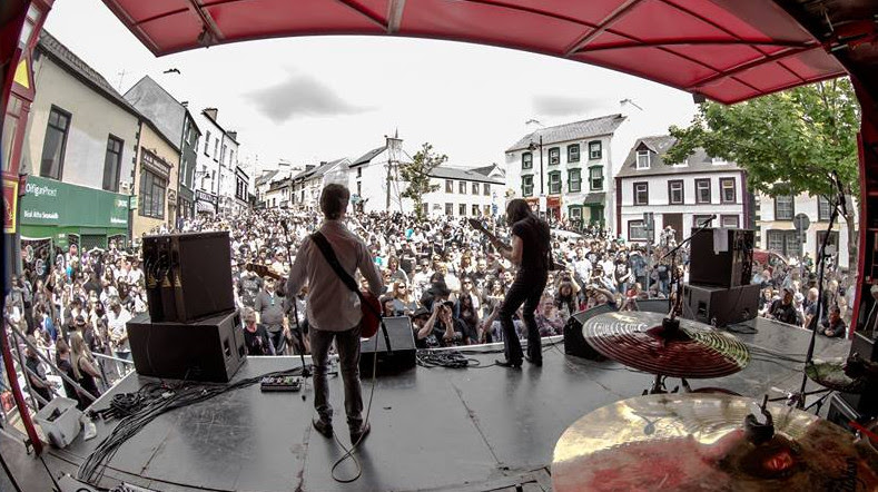 Live at The Gables in Ballyshannon Town Centre during Rory Gallagher Festival 2016 featuring the Pat McManus Band