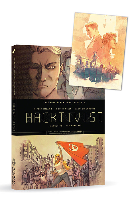 Hacktivist HC Bookplate - SDCC