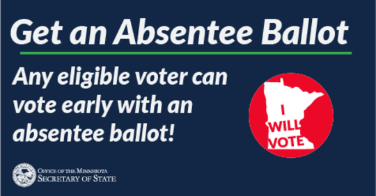 Request an Absentee Ballot Now