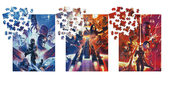 Mass Effect 1000-Piece Puzzles