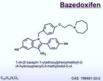Resultado de imagen de ictus cerebral y bazedoxifeno