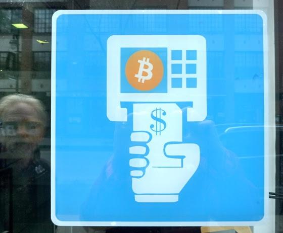 Bitcoin machine in Montreal or Art Installation?