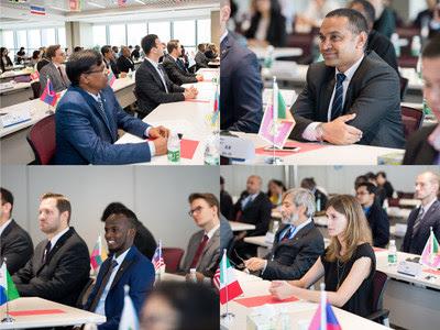 Talentos globais no setor portuário e de navegação convidados para a edição de verão do Programa de Treinamento da China Merchants C Blue em 2018 (PRNewsfoto/CMPort)