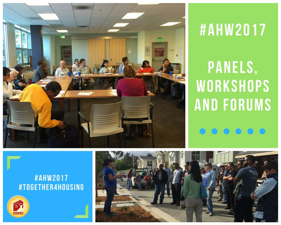 #AHW2017 Panels. Workshops, and Forums