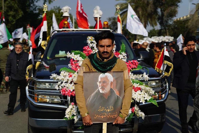 Iraqi paramilitary chief Abu Mahdi al-Muhandis was also killed in the strike