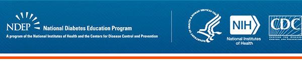 National Diabetes Education Program banner image