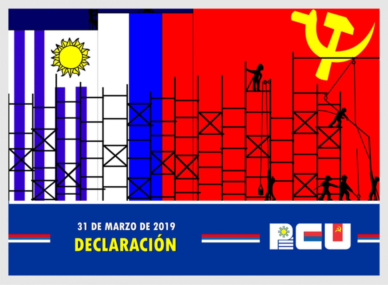 Declaración del PCU en defensa de la democracia y contra la impunidad – 31/3/19