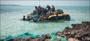 Marine Debris team