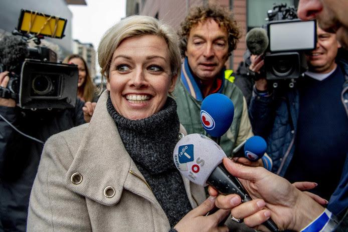 Boegbeeld Jenny Douwes van de blokkeerfriezen.