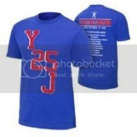 Chris Jericho Y25J Commemorative Authentic T-Shirt