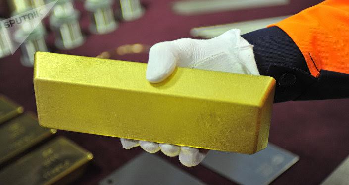 Un lingote de oro