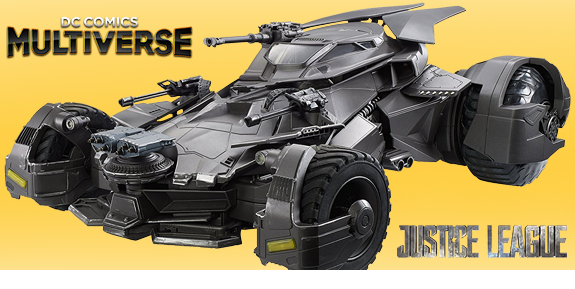Justice League Multiverse Batmobile