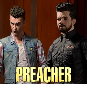 PREACHER JESSE AND CASSIDY FIGURES