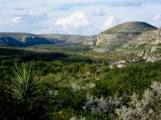 View of the Dry Devils River Canyon - Download Images to View