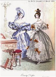 1830's era silhouette