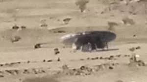 Real UFO With Aliens Caught on Camera From Saudi Arabia - UFO or Military Vehicle? (Video)