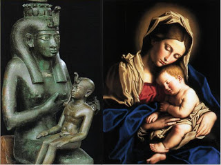 Image result for isis and mother mary
