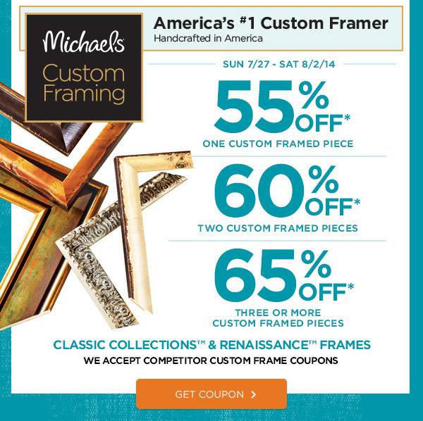 65% Off Framing Offer