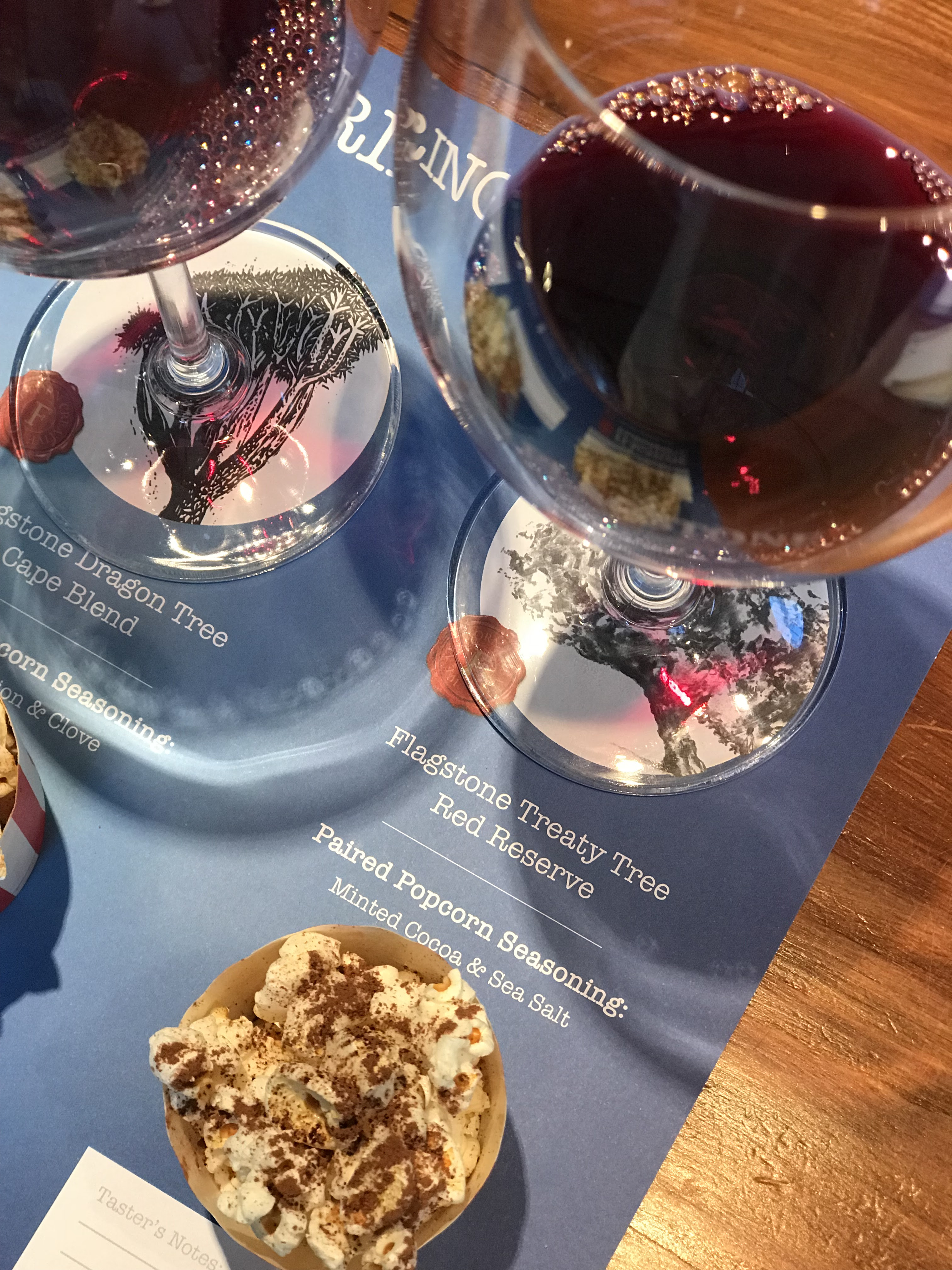 Flagstone Popcorn and Wine BoozyFoodie Blog News