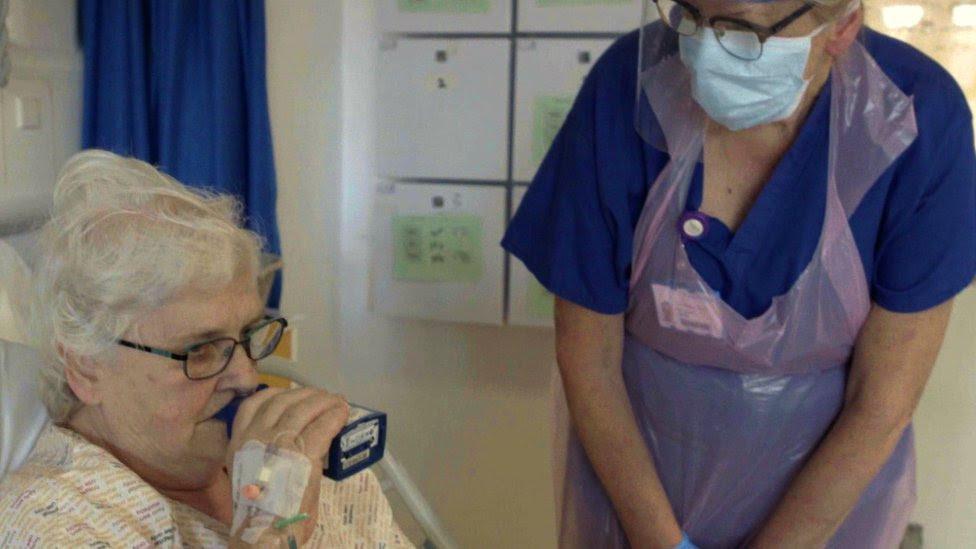 Coronavirus: UK hospital trials new treatment drug
