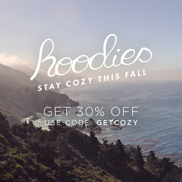30% Off All Hoodies!