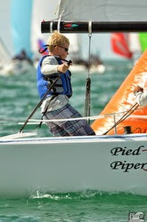 J/70 youth sailor at Key West Race Week