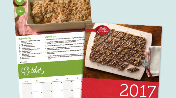 Betty Crocker 2017 Calendar