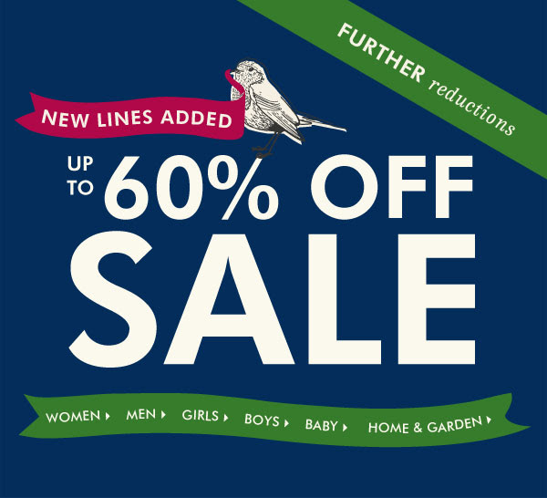 Save Up to 60% OFF Selected Items at Joules.com