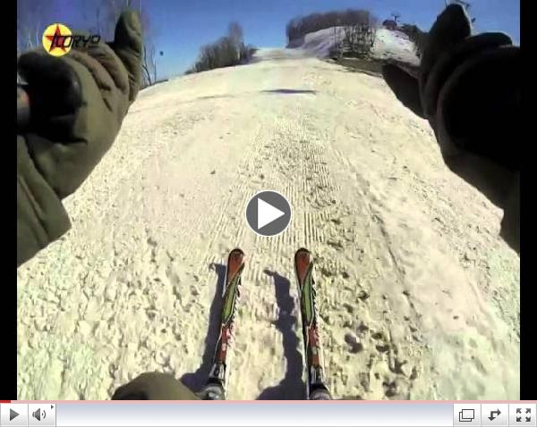 GoPro Skiing in North Korea!