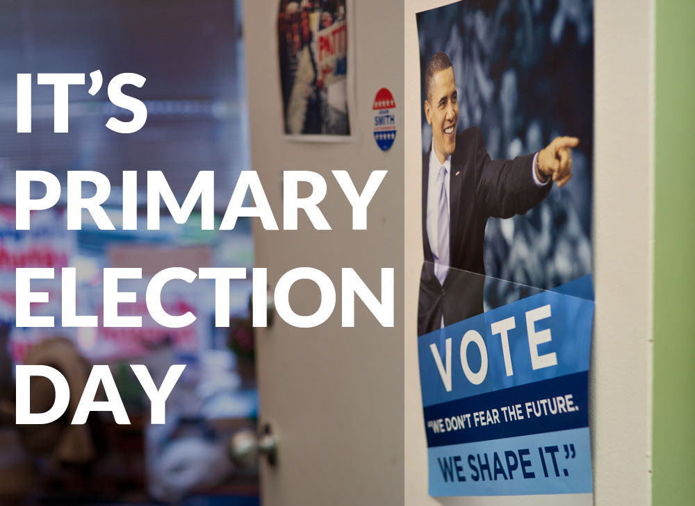 It's Primary Election Day