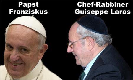 Papst Franziskus und Rabbi Laras