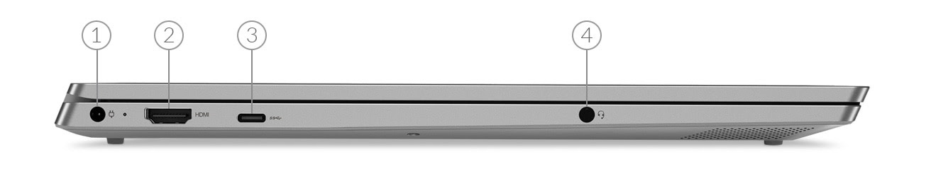 Ideapad D330 - Portas laterais direitas