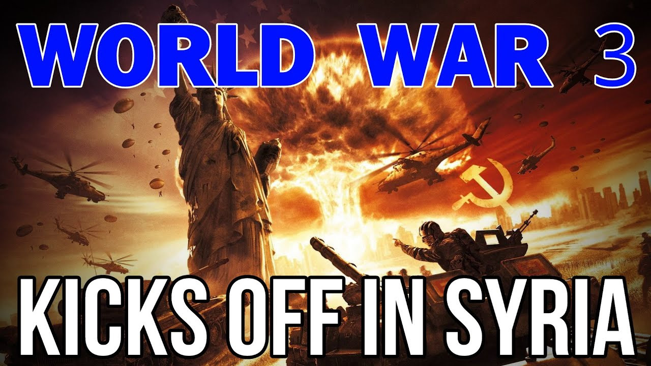 Syrian Chemical Attack: False Flag to Start World War -Video