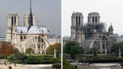 El mundo, conmocionado al ver arder la catedral Notre Dame de París