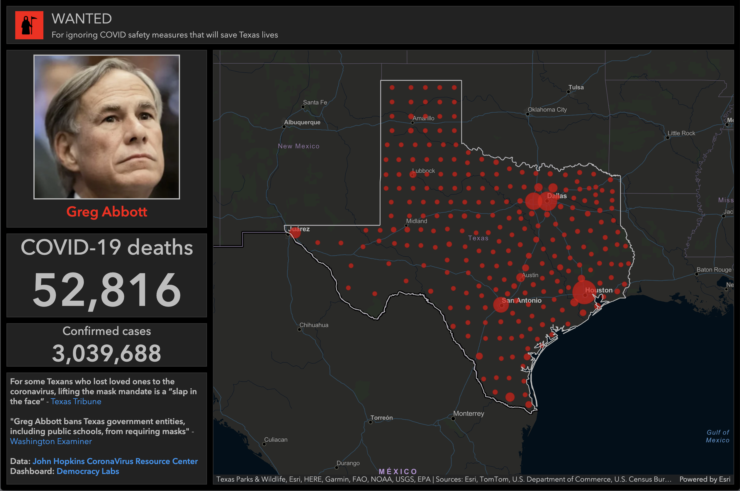 Greg Abbott blocks COVID-19 safety precautions as the pandemic rages in Texas