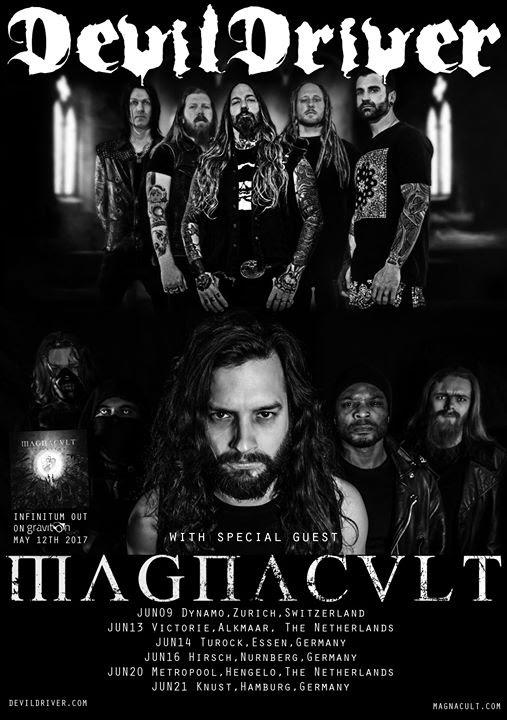 Image Magnacult - Tour DevilDriver