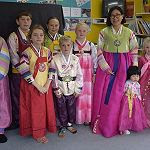 Kiwitea Students Korean Cultural Day Nov 2017, Sunny Yang VLNP teacher