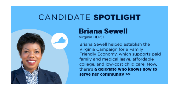 Candidate Spotlight: Briana Sewell (HD-51)