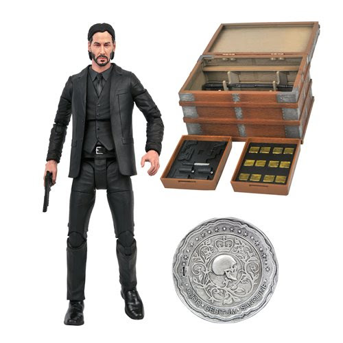 Image of John Wick Deluxe Action Figure Box Set - JANUARY 2021