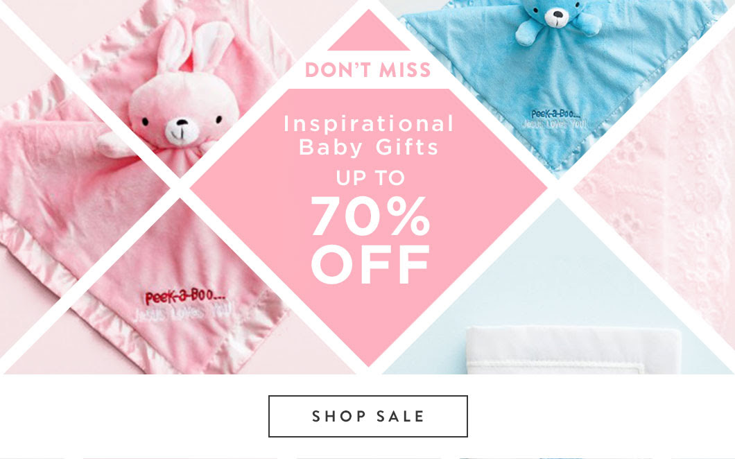 Don't Miss the Inspirational Baby Gifts on Sale
