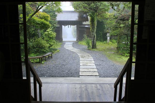 1位 「御岳山荘(みたけ山荘)」 玄関