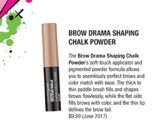 Brow Drama Shaping Chalk Powder