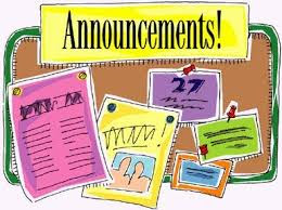 Image result for announcements