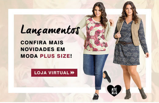 Lançamentos - Confira mais novidades em Moda Plus Size! | Loja virtual!