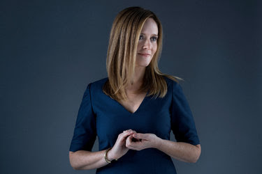"""The comedian Samantha Bee, who hosts the topical show """"Full Frontal"""" on TBS."""